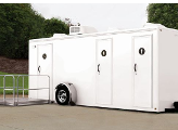 3 Station 19' ADA Luxury Spa Restroom Trailer